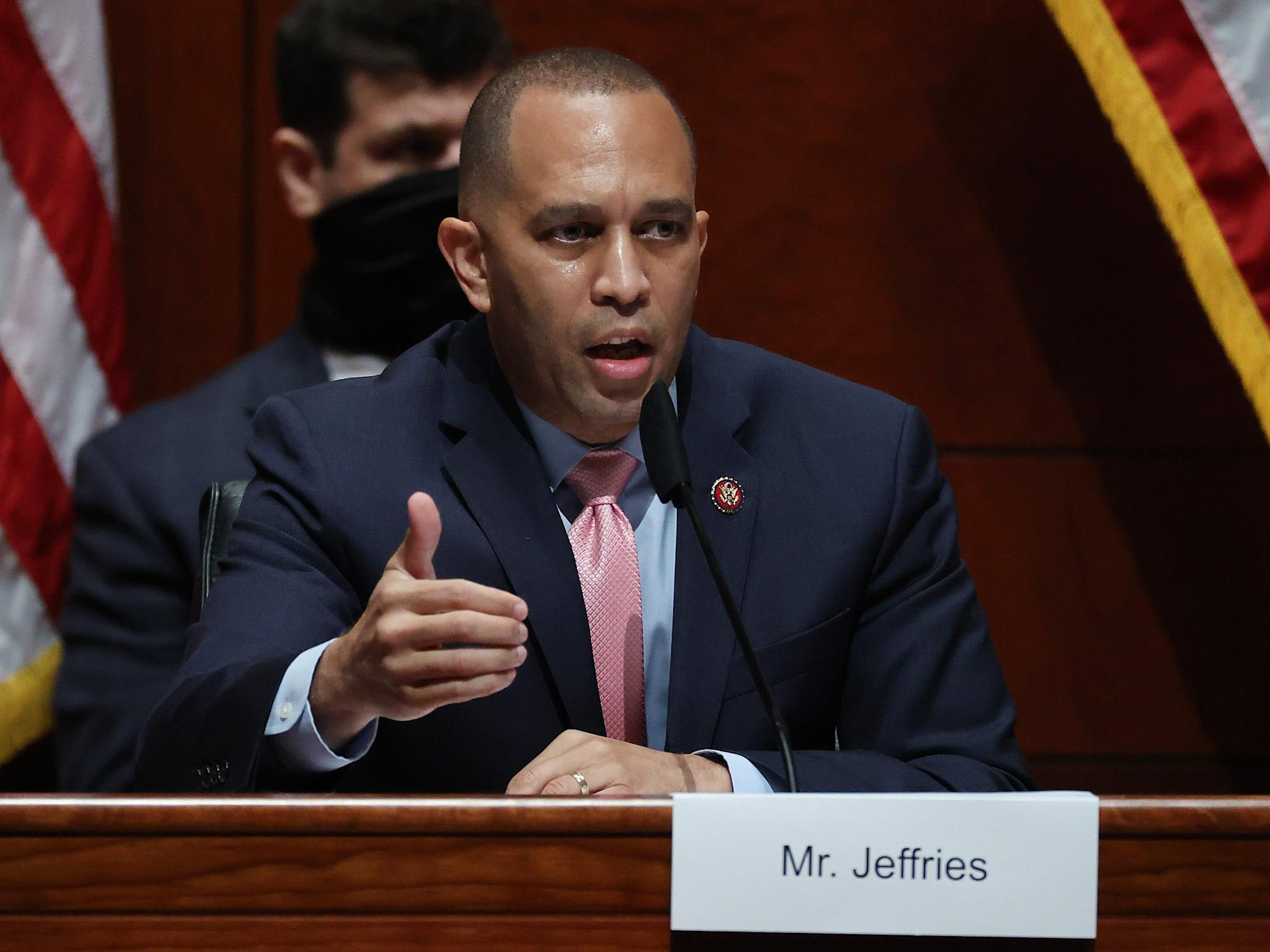 Rep. Jeffries slams newly elected Rep. Owens for voting to overturn the 2020 election results