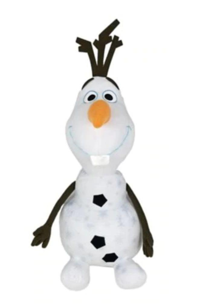 "Disney Frozen 2 Plush Olaf is soft and cuddly.&nbsp;<strong>Ages:</strong> 3+&nbsp;<strong>Get it at</strong>: <a href=""https://www.canadiantire.ca/en/pdp/disney-frozen-2-plush-olaf-24-in-0505932p.html"" target=""_blank"" rel=""noopener noreferrer"">Canadian Tire</a>, $29.99"