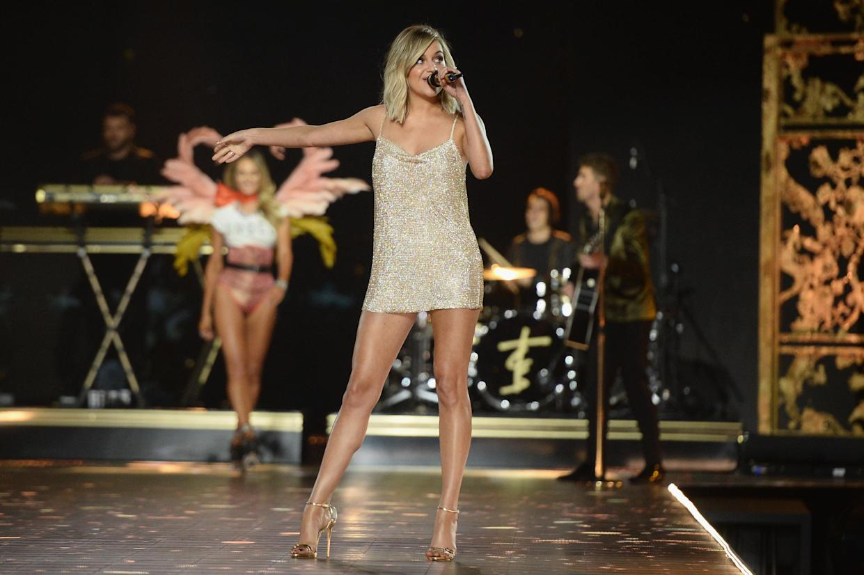Kelsea Ballerini shut down a troll who told her to lose weight. (Photo: Getty Images)