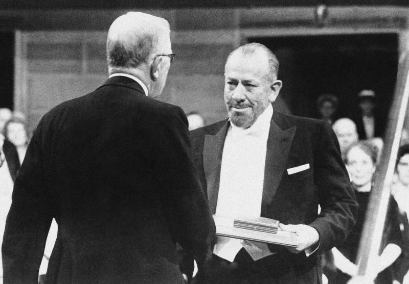 John Steinbeck Receives Nobel Prize