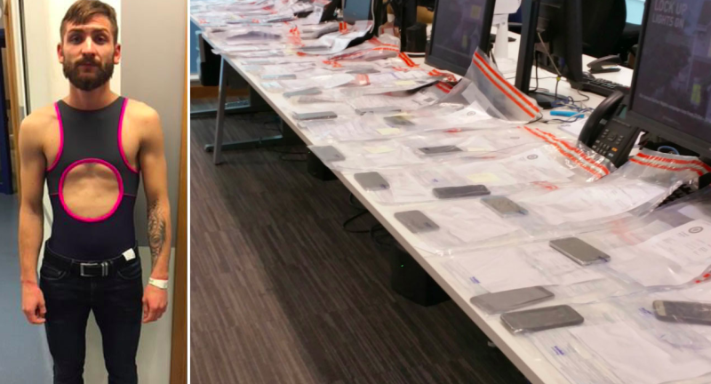 Birmingham Royal Blood thief hid 53 phones in swimsuit