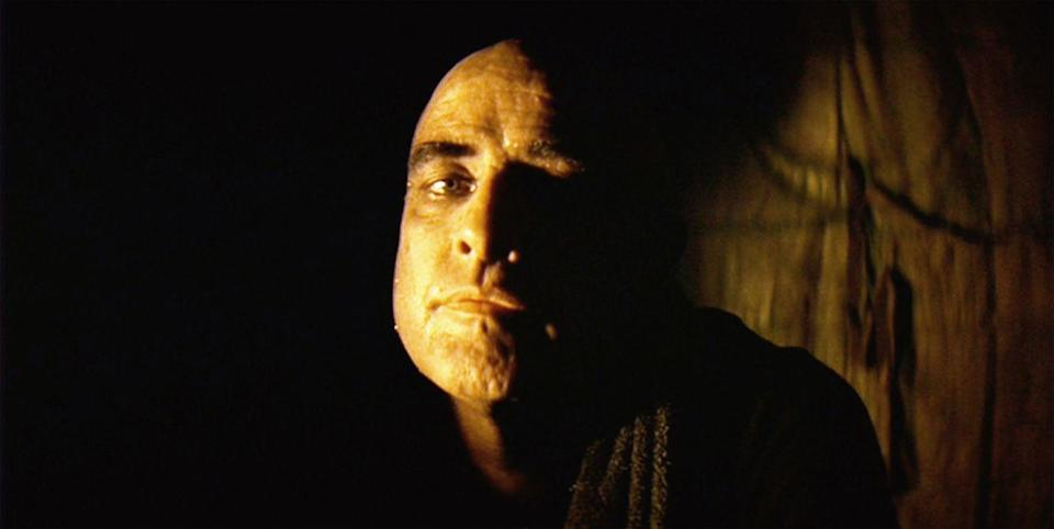 <p>Marlon Brando was known for his method acting technique, so it is no surprise the actor fully went for it and shaved his head in <em>Apocalypse Now</em>. </p>