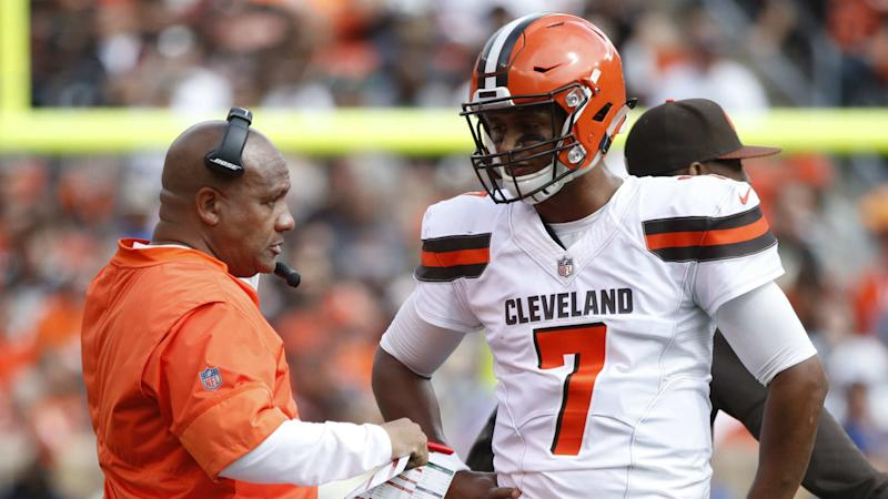 Browns Rookie QB DeShone Kizer Benched For Second Half Against Jets