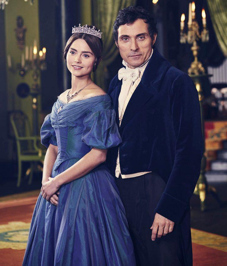 Jenna Coleman and Rufus Sewell (Credit: PBS Masterpiece)