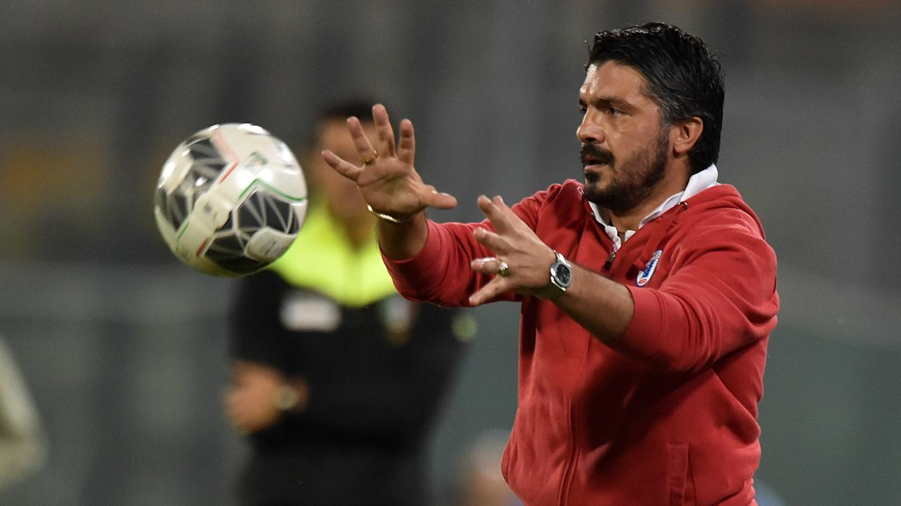Taking a job on the AC Milan coaching staff is not a step back in his career, according to Gennaro Gattuso.