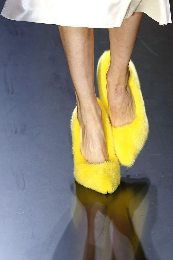<p>While shearling-lined shoes might be commonplace now, with styles by Birkenstock and Ugg Australia still trending, Philo's fur heels and lined sandals surprised fashion fans when they appeared on the runway in 2013.</p><p>'Philo's era at Céline was a defining moment for modern femininity,' says Hsu. 'She initiated today's luxury minimalism,' Hsu adds, referring to the easy silhouettes and comfortable styles that appeared unexpectedly on the catwalk.</p><p>Part of the SS13 collection, Philo ushered in a new era of ease, pairing them with loose silk silks and fluid tailored trousers.</p><p>They hinted at Philo's wit, injecting humour into luxury fashion at a time 'luxury' appeared much more serious.</p>