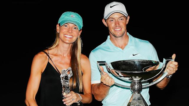 Golf star Rory McIlroy married Erica Stoll at a $250,000 wedding Saturday in Ireland.