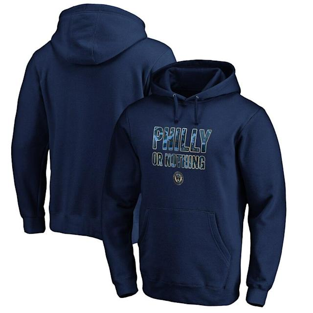 Union 2019 MLS Cup Playoffs Slogan Pullover Hoodie