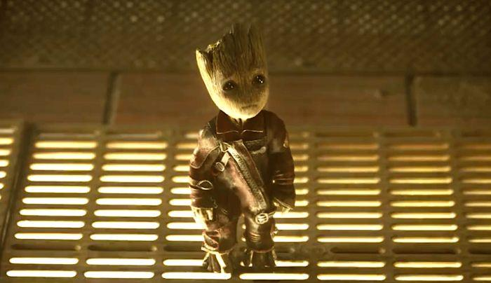 Baby Groot et son regard triste attendrissent le public de Marvel. (Photo: Marvel)