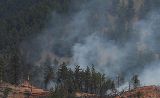 Colorado is facing extreme wildfire conditions this week