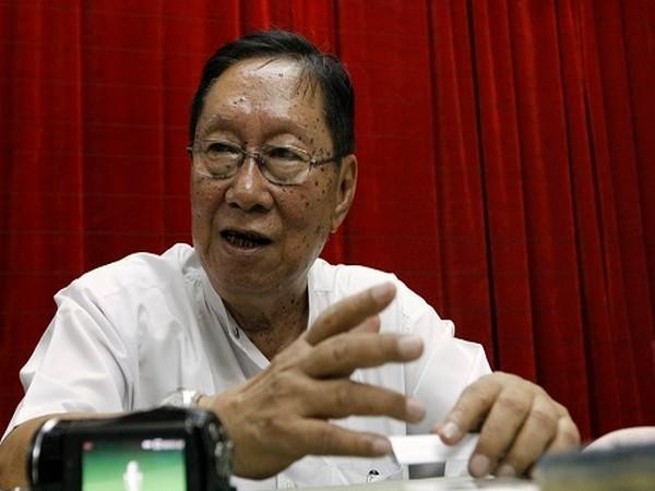 Senior member of the former ruling National League for Democracy Party in Myanmar, Nyan Win (Photo Credit: Reuters)