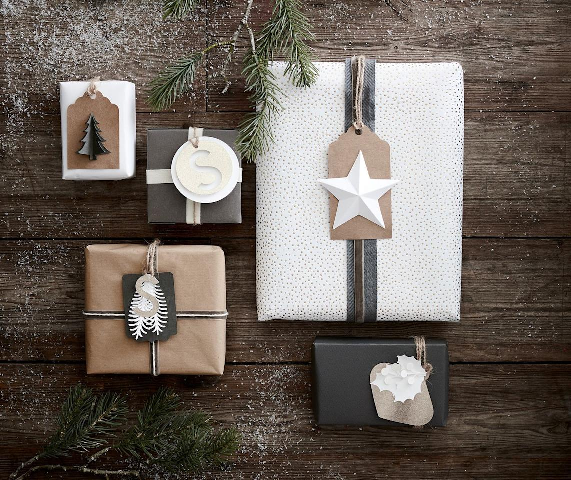 "<p><a class=""body-btn-link"" href=""https://go.redirectingat.com?id=127X1599956&url=https%3A%2F%2Fwww.hobbycraft.co.uk%2Fchristmas%2Fchristmas-gift-wrapping&sref=http%3A%2F%2Fwww.housebeautiful.com%2Fuk%2Flifestyle%2Fg28961031%2Fhobbycraft-christmas-craft-trends%2F"" target=""_blank"">BUY NOW</a> <strong>Gift wrapping</strong></p><p>According to Hobbycraft, one of the biggest trends set for 2019 is the move away from readymade wrap and tags to more sustainable alternatives. Recyclable Kraft brown crackers and paper that can be customised with seasonal embellishments are predicted to be popular as the desire for eco options increases.</p>"