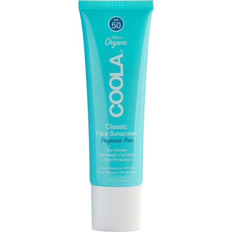 COOLA Organic Classic Daily Face Sunscreen Lotion, SPF 50 (Photo: Amazon)