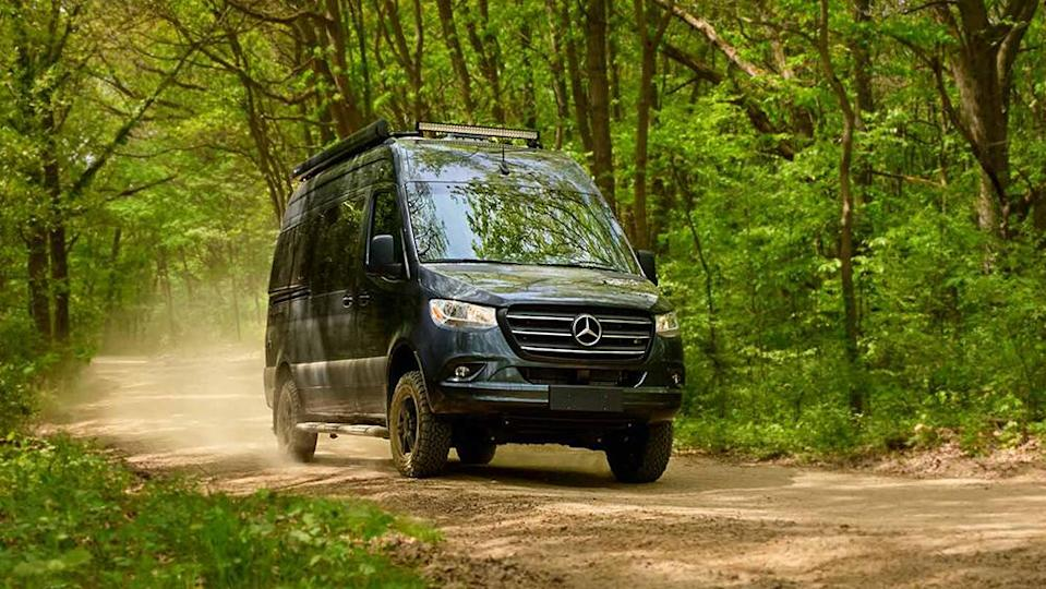 The Sanctuary camper is powered by a 188 hp V-6. - Credit: Thor Motor Coach