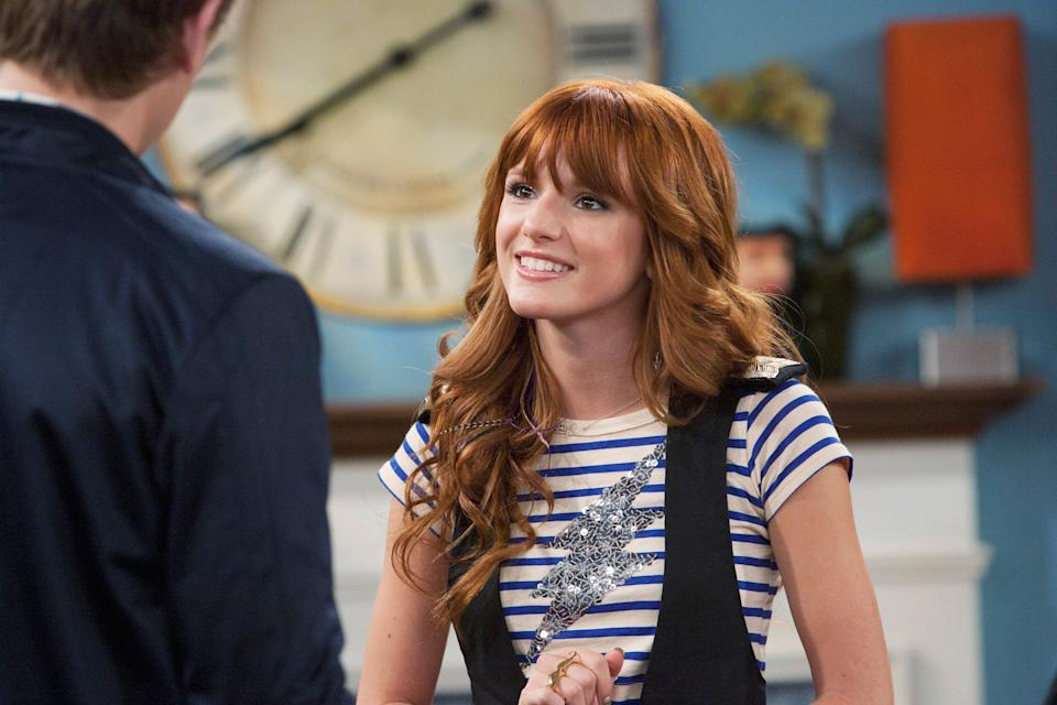 Bella Thorne appears on the Oct. 9, 2011 episode of