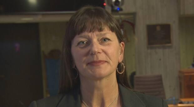 St. John's Deputy Mayor Sheilagh O'Leary says a new and improved Churchill Square will focus on accessibility.   (Eddy Kennedy/CBC - image credit)