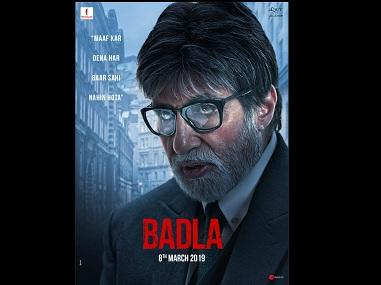 Badla: Shah Rukh Khan unveils first posters of revenge thriller starring Amitabh Bachchan, Taapsee