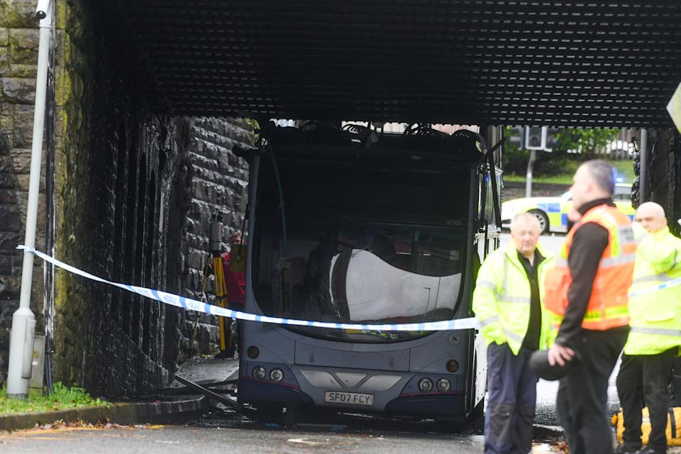 A 63-year-old man was arrested in connection with the incident but has been released under investigation (Picture: Wales News Service)