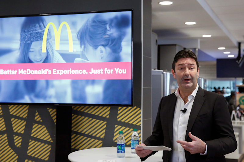 McDonald's Ousts CEO Steve Easterbrook Over Consensual Relationship With Employee