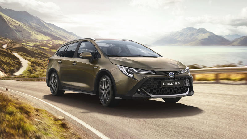 The new Corolla Trek takes influences from one of the world's best-known bicycle manufacturers