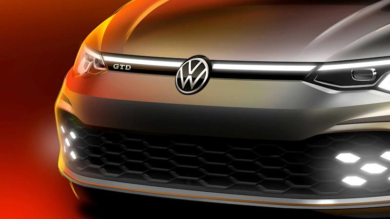 VW Golf GTD 2020 (Teaserbild)