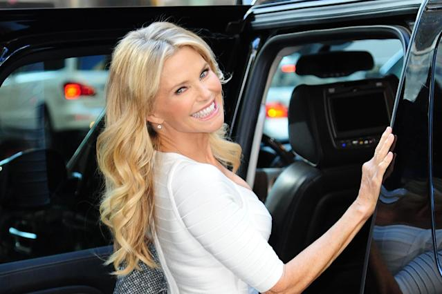 Christie Brinkley likes to be candid about her beauty routine. (Photo: Getty Images)