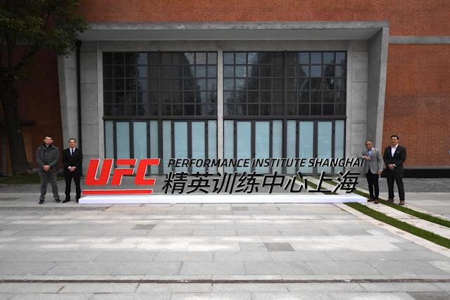 "The UFC Performance Institute in Shanghai, China, will host the Asian edition of ""Dana White's Contender Series."" (Getty Images)"
