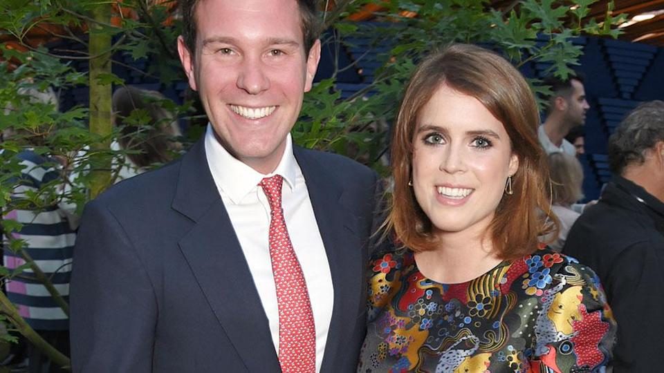 Princess Eugenie and Jack Brooksbank announced their engagement in January (Getty)