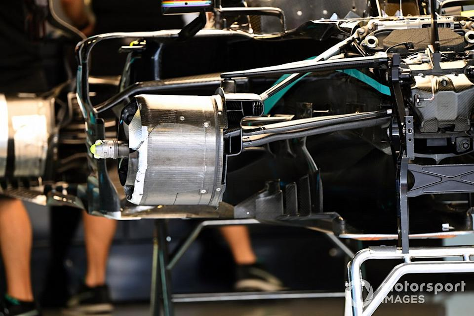 "Mercedes F1 W11 technical detail<span class=""copyright"">Mark Sutton / Motorsport Images</span>"