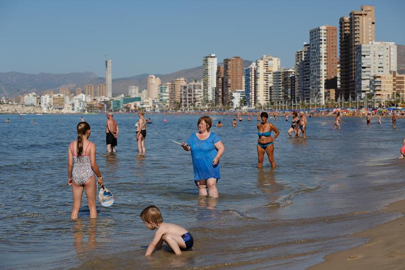 Levante Beach in Benidorm is one of Europe's top package holiday destinations (Pablo Blazquez Dominguez/Getty Images)