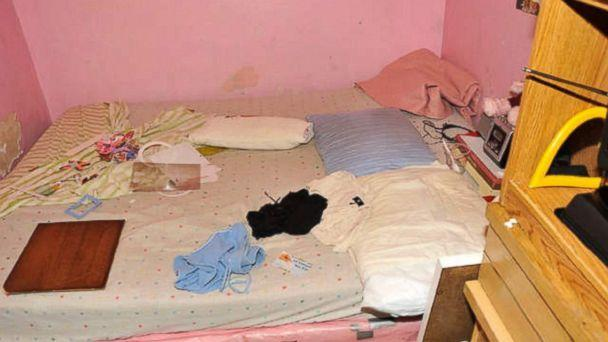 PHOTO: Gina DeJesus and Michelle Knight shared this room in Ariel Castro's house. (FBI)