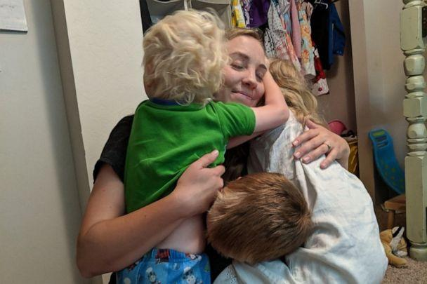 PHOTO: Kathleen Thorson, 34, a mother of four, is seen in an undated photo with three of her children, Danny, 7, Gracie, 6 and James, 4. (Jesse Thorson)