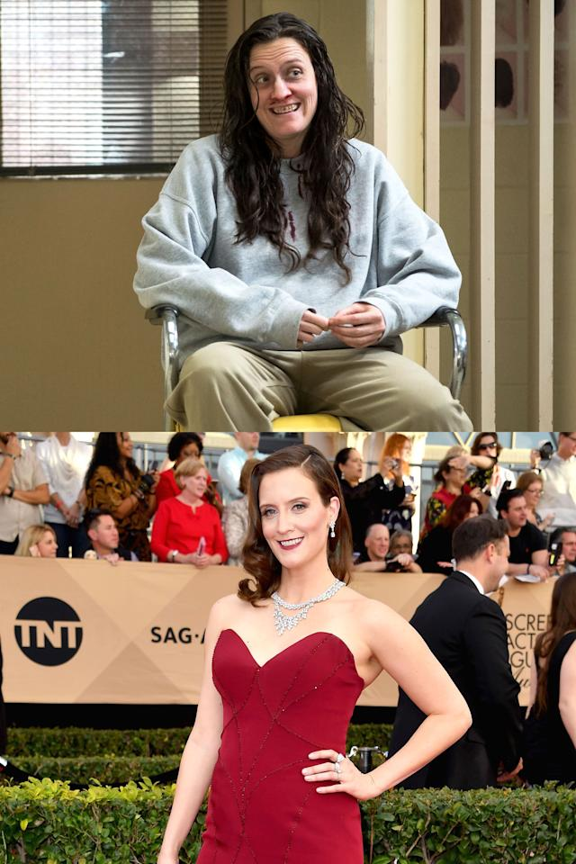 <p>The final season of <em>Orange Is the New Black</em> premieres today(!), and while you might be super busy crushing every episode you can, you should see how much the actors transform to take on their Litchfield roles.</p>