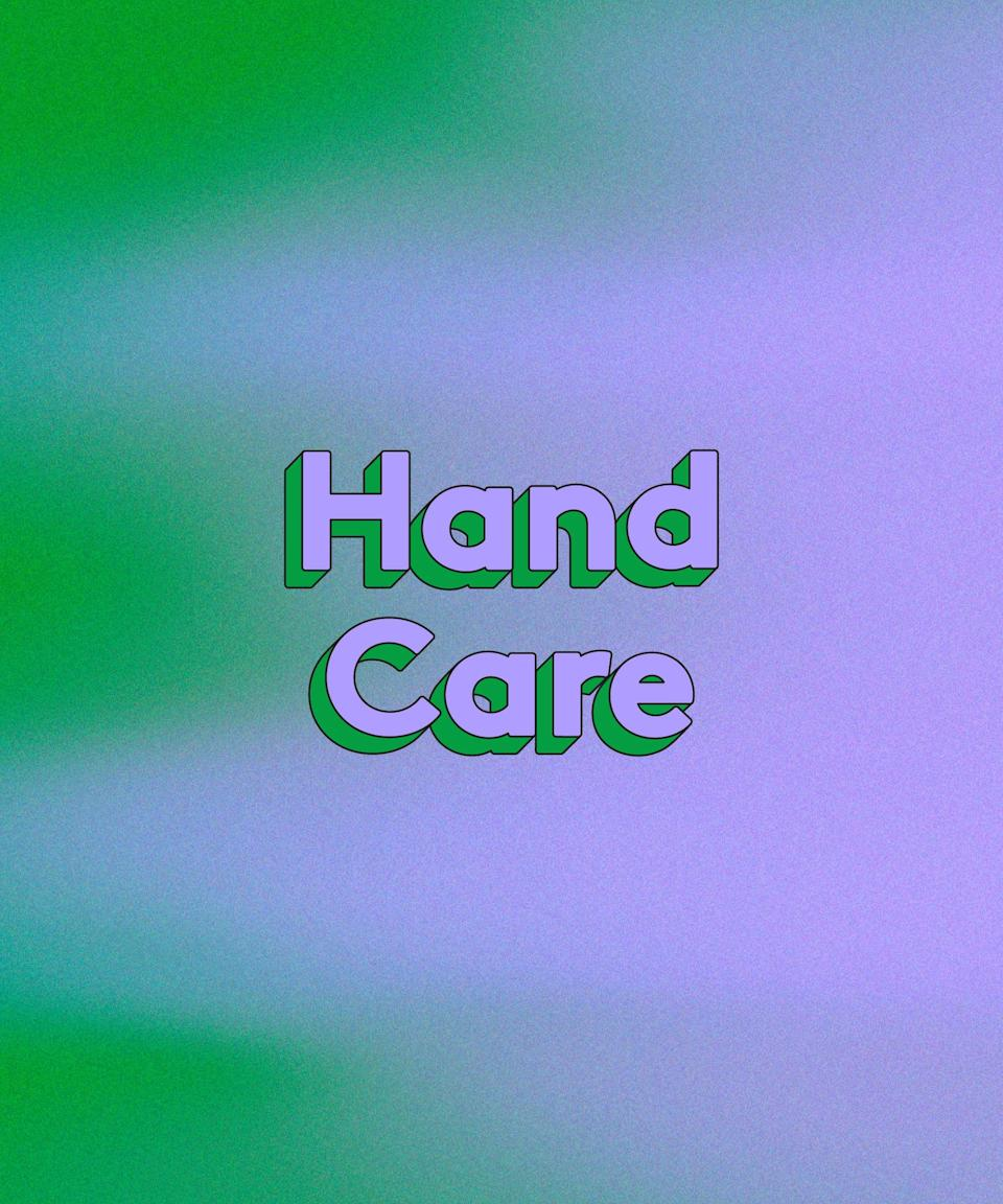 """<h3>Hand Care</h3><br>While our faces are weathering the stress of the past year compounded by constant mask-wearing, our hands have constant washing and sanitising to deal with. The hands are all too easy to overlook, but you can feel their trauma in the form of painful cracking. Your hands deserve a """"thank you"""" for getting you through late-night text paragraphs, endless camera clicks, and high fives — back when those weren't something we thought twice about."""