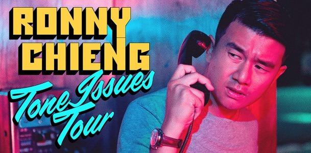 Ronny Chieng Tone Issues Tour. (PHOTO: Century Events)