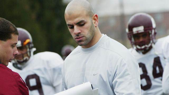 Robert Saleh spent one season with Central Michigan. He then had stops at the University of Georgia, and with the Houston Texans, Seattle Seahawks and Jacksonville Jaguars before landing as the 49ers' defensive coordinator. (Courtesy of Central Michigan)