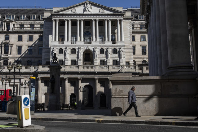 The Bank of England. Photo: Dan Kitwood/Getty Images