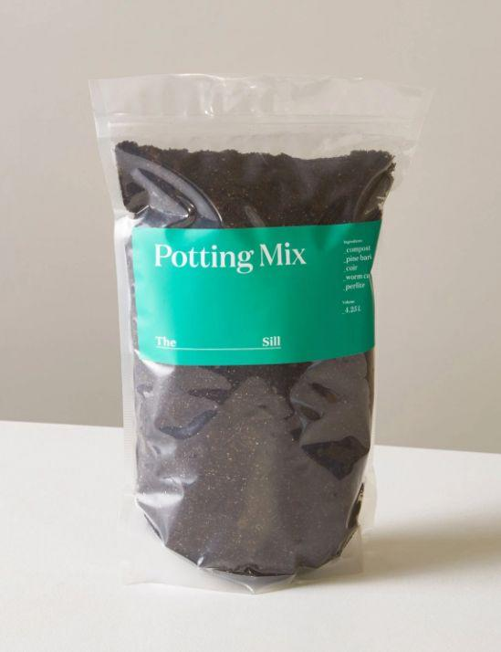 "Find this potting mix for $12 at <a href=""https://fave.co/3hk32Mt"" target=""_blank"" rel=""noopener noreferrer"">The Sill</a>."
