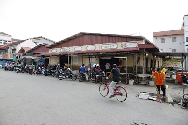 The oldest market in Seberang Perai with a building believed to be built in 1928.