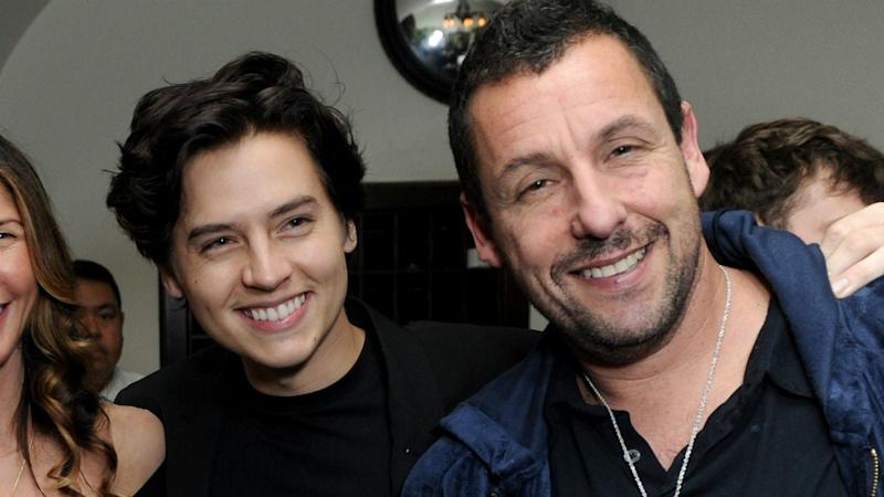 Adam Sandler Talks Possible 'Big Daddy' Sequel Upon Reuniting With Cole Sprouse (Exclusive)