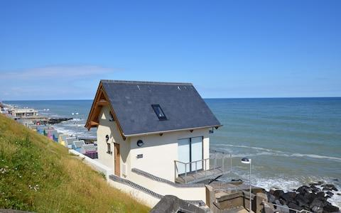 Wee Retreat on the Norfolk coast used to be a public WC