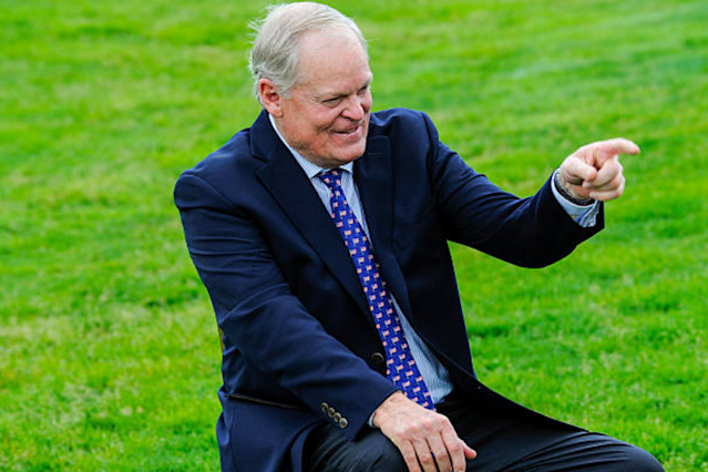 For those of you wondering where Johnny Miller is, don't fret, he'll be back soon