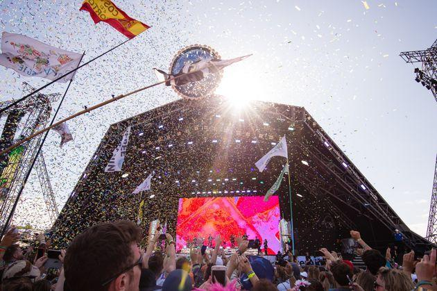 Glastonbury's iconic Pyramid stage in 2019 (Photo: Harry Durrant via Getty Images)
