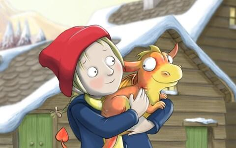 A scene from Mimi and the Mountain Dragon - Credit: BBC/Leopard Pictures