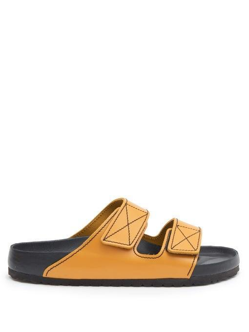 """<br> <br> <strong>Birkenstock x Proenza Schouler</strong> Arizona Leather Slides, $, available at <a href=""""https://go.skimresources.com/?id=30283X879131&url=https%3A%2F%2Fwww.matchesfashion.com%2Fus%2Fproducts%2FBirkenstock-x-Proenza-Schouler-Arizona-leather-slides-1344158"""" rel=""""nofollow noopener"""" target=""""_blank"""" data-ylk=""""slk:Matches Fashion"""" class=""""link rapid-noclick-resp"""">Matches Fashion</a>"""