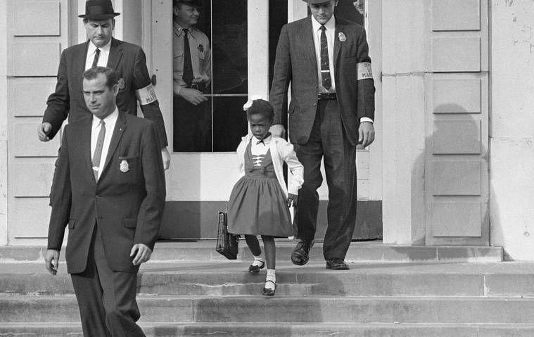 """<p>Bridges probably had no idea that the bold act she committed in 1960 would set off a chain reaction leading to the integration of schools in the South. She was just six years old when she became the first African American student to attend William Frantz Elementary in Louisiana at the height of desegregation. She is now the chair of the <a href=""""https://rubybridgesasingh.weebly.com/ruby-bridges-foundation.html"""" rel=""""nofollow noopener"""" target=""""_blank"""" data-ylk=""""slk:Ruby Bridges Foundation"""" class=""""link rapid-noclick-resp"""">Ruby Bridges Foundation</a>, which was formed in 1999 to promote """"the values of tolerance, respect, and appreciation of all differences.""""</p>"""