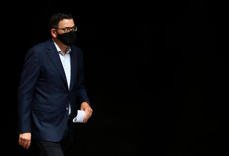 Premier Daniel Andrews is set to address the state on Sunday with his latest round of changes to Melbourne's lockdown. Source: Getty