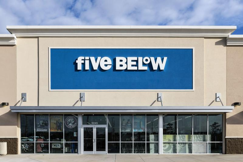 Five Below Stores Will Start Selling Select Products for More Than $5 for the First Time