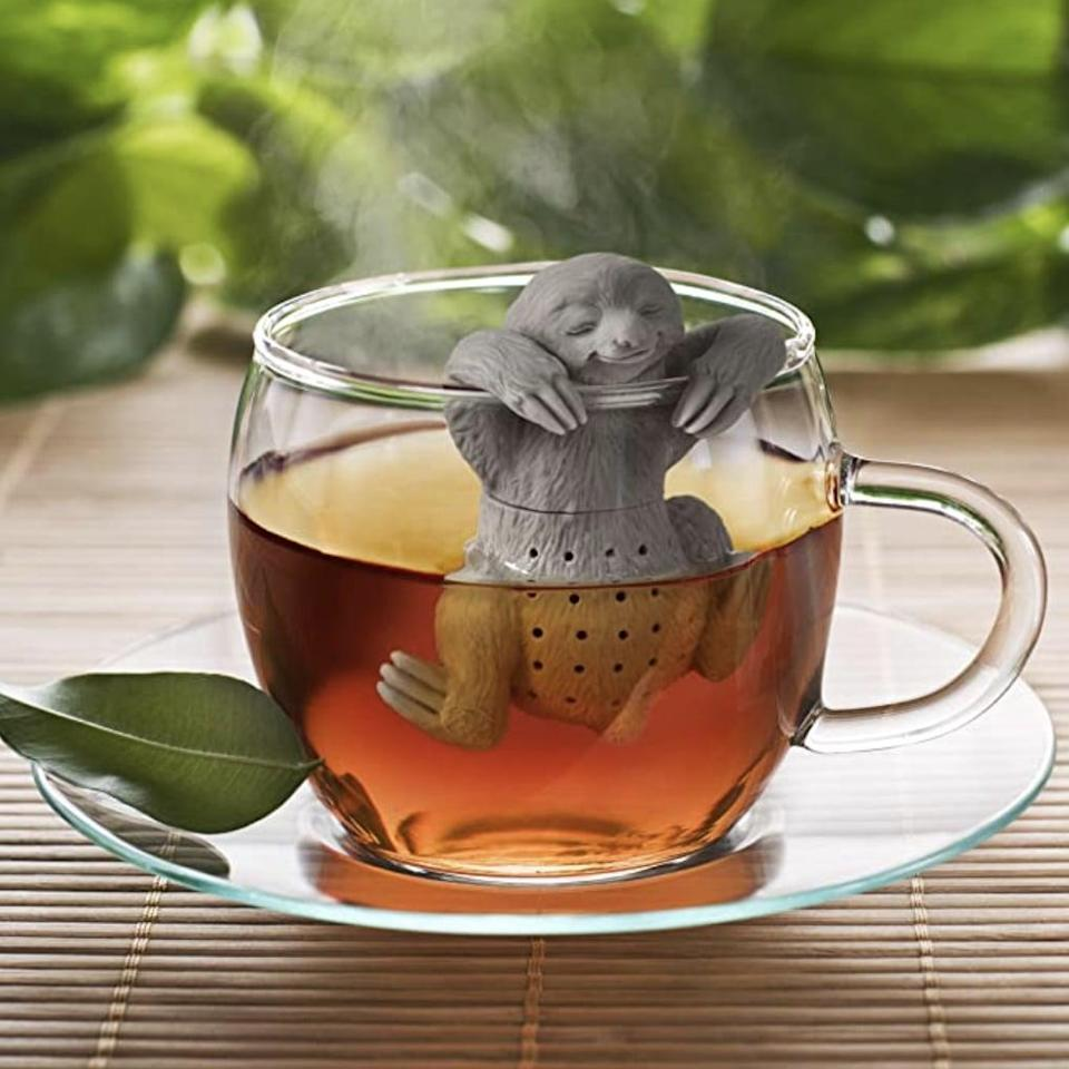 <p>Tea-lovers will adore this <span>Fred Slow Brew Sloth Tea Infuser</span> ($7).</p>