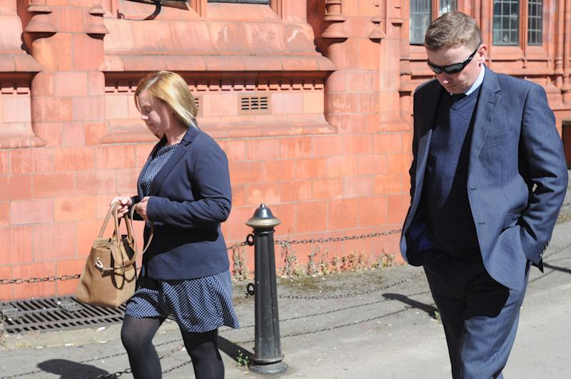 Hannah Rose and Paul Oliver denied animal cruelty charges after they were linked to a hunt's Master of Hounds, who was caught by a covert camera as he prepared to feed live fox cubs to his dogs
